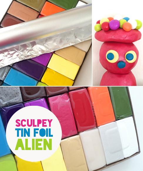 sculpey alien figure