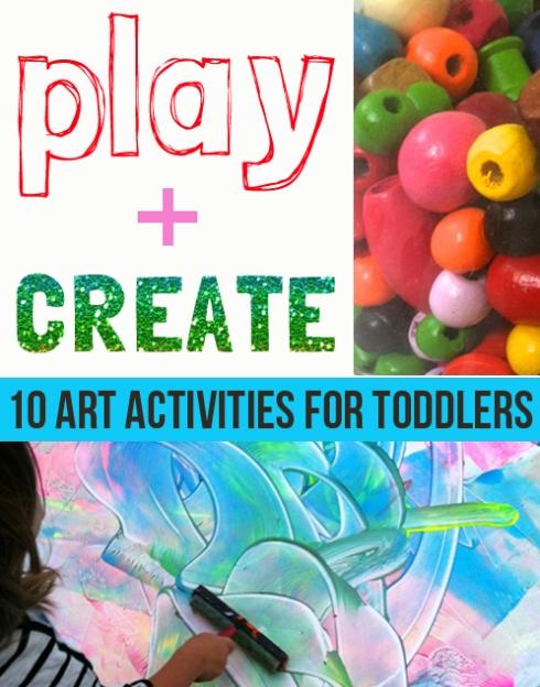 ten amazing art activities for toddlers