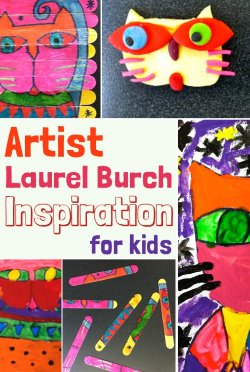 Artist Laurel Burch Inspiration for Kids