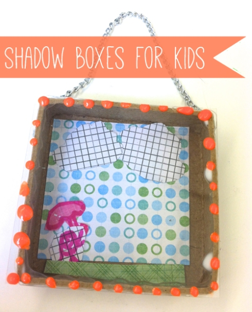 Little World Shadow Box DIY