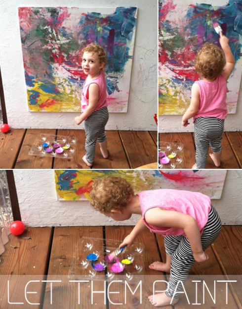 Evolving Canvas for Toddlers - Invitation to Play
