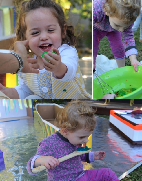 Rainbow Jello Sensory Play for Toddlers and Babies