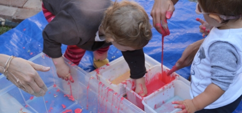 Slimy Pumpkin Fun for Toddlers