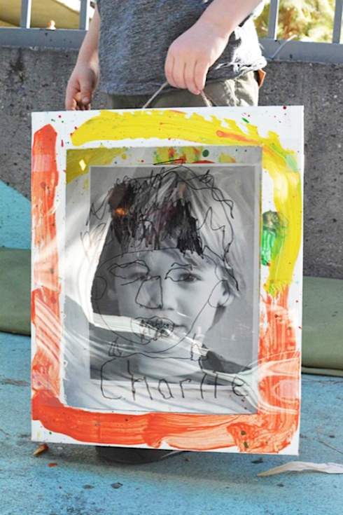 Reggio Inspired Self Portrait Boxes