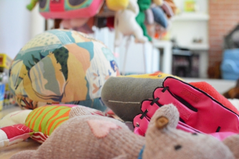 Stuffed Animal Catch All Bin
