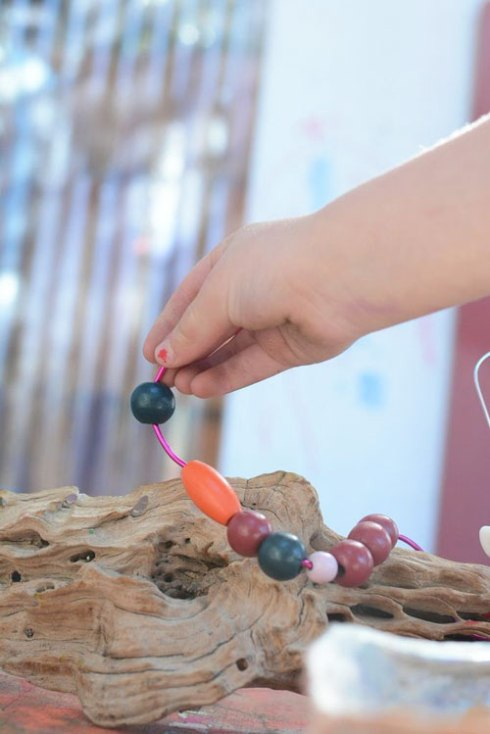 Beading and Nature - Invitation to Play