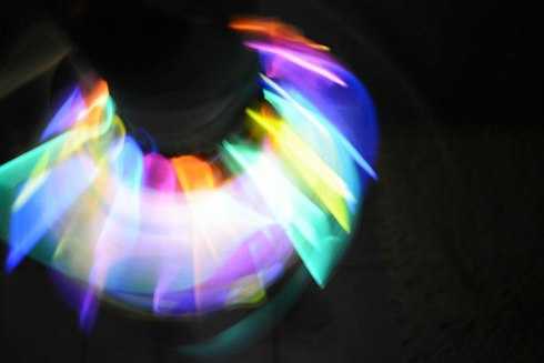 Glow in the Dark Twirling Skirt