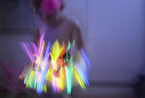 Glow in the Dark Twirling Skirt -
