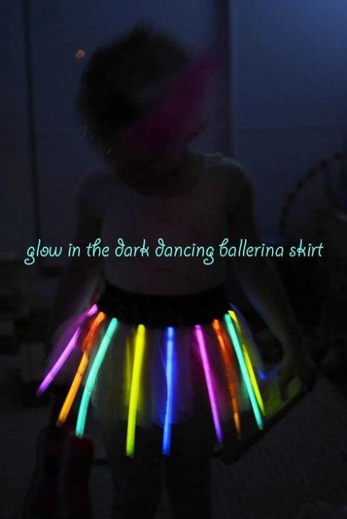Glow in the Dark Dancing Ballerina Skirt
