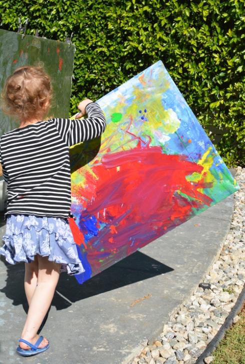 Evolving Canvas Art for Kids